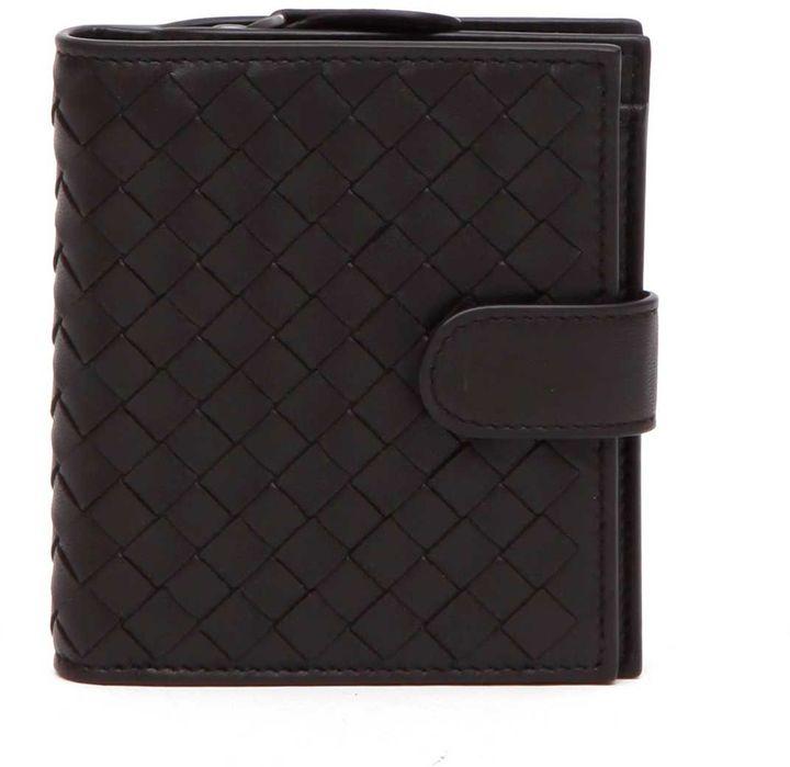 Bottega VenetaBottega Veneta Mini Wallet Intrecciato Nappa
