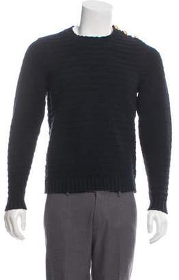 Michael Bastian Crew Neck Knit Sweater w/ Tags navy Crew Neck Knit Sweater w/ Tags