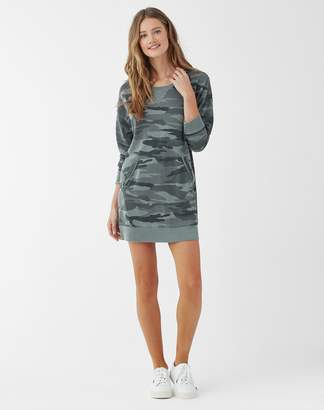 Splendid Essentials Camo Courtside Dress