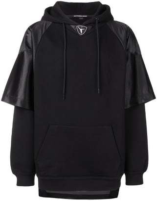 Alexander Wang Football hooded sweatshirt