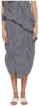 Yohji Yamamoto Y's by Shirring Skirt Women's Skirt