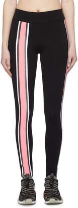 NO KA 'OI No Ka'Oi 'Kanawai Lau' contrast stripe performance leggings