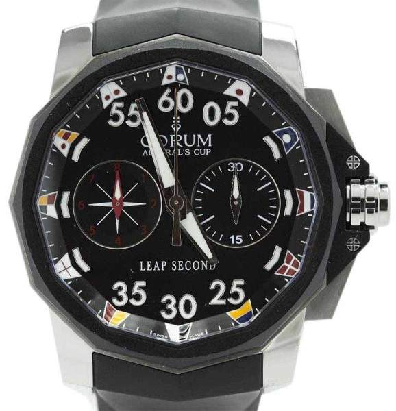 Corum Admirals Cup 895.931.06 Limited Edition Leap Seconds Chronograph 48mm Watch