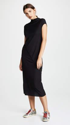Rick Owens Lilies Asymmetric Seam Dress