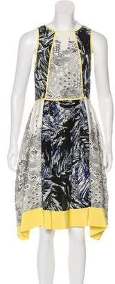 Tibi A-Line Printed Dress w/ Tags