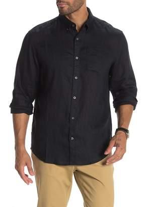 Original Penguin Washed Linen Classic Slim Fit Shirt