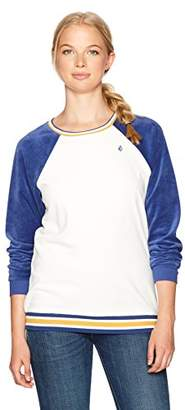 Volcom Women's Gotta Crush Relaxed Fit Crew Neck Fleece Sweatshirt