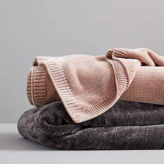 west elm Luxe Chenille Throws