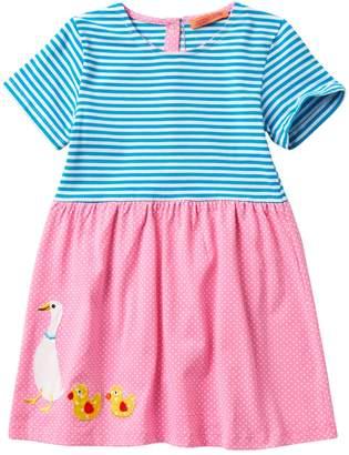 Funkyberry Duck Dress (Toddler & Little Girls)