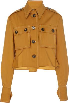Zimmermann Zippy Safari Wool Shirt