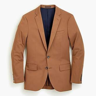 J.Crew Ludlow suit jacket in Italian stretch chino