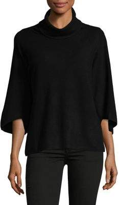 Ellen Tracy Petite Three-Quarter Sleeve Sweater