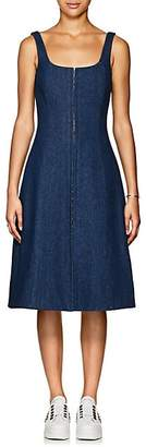 CF GOLDMAN Women's Denim Corset Dress