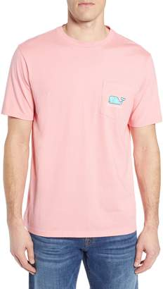 Vineyard Vines Map of the Islands Pocket T-Shirt