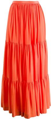 Gianluca Capannolo panelled maxi skirt