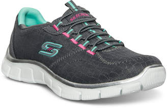Skechers Women's Relaxed Fit Sport: Empire - Rock Around Walking Sneakers from Finish Line $59.99 thestylecure.com