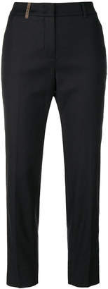Peserico cropped straight-leg trousers