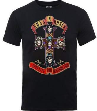 N. Guns N' Roses Mens Appetite for Destruction T-Shirt (2XL)