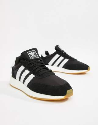 adidas I-5923 Leather Sneakers In Black D97344
