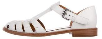 Church's Leather Ankle Strap Sandals