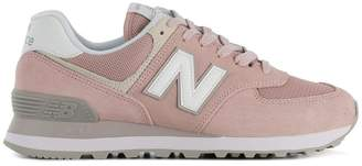 New Balance pastel lace-up sneakers