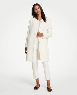 Ann Taylor Jewel Neck Coat