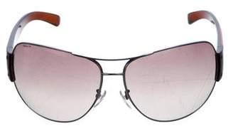 Prada Sport Oversize Gradient Sunglasses