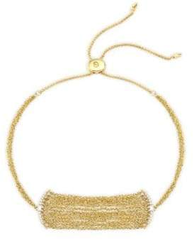 Celara 14K Yellow Gold Multi-Chain Bolo Bracelet