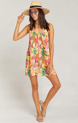 Show Me Your Mumu Trapeze Mini Dress ~ Tutti Frutti