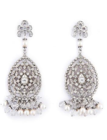 Badgley Mischka Jewelry Chandelier of Elegance Earrings