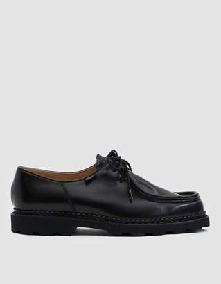 Paraboot Michael Shoe in Gloss Black