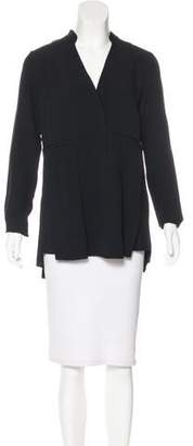 Proenza Schouler Pleated Long Sleeve Blouse