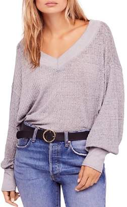 Free People South Side Thermal Sweater