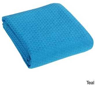 +Hotel by K-bros&Co Hotel Luxury Collection Classic All Seasons Super Soft Lightweight Cotton Blanket King, Teal