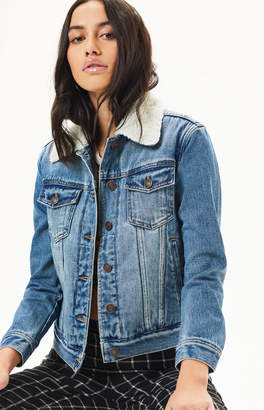 PacSun Sherpa Collar Trucker Jacket