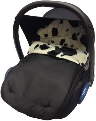 Graco For Your Little One Fit Animal Print Padded Car Seat Footmuff/Cosy Toes Junior/Logico Cow