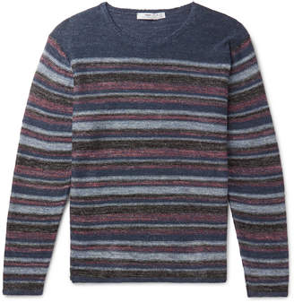 Inis Meáin - Striped Donegal Linen Sweater
