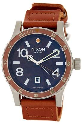 Nixon Men&s Diplomat Strap Watch $450 thestylecure.com