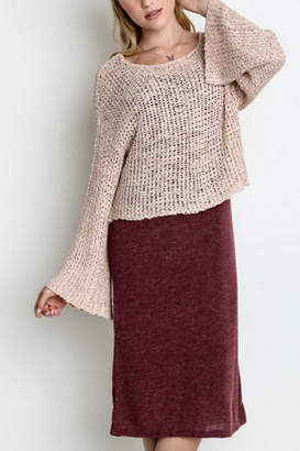 Umgee USA All-In-One Sweater Dress