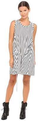 McQ Knot Drape Dress Women's Dress