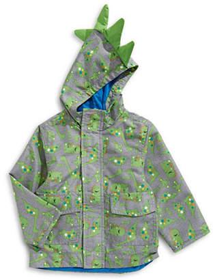 London Fog F.O.G. BY Dinosaur Hooded Jacket