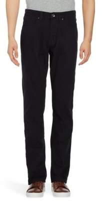 Black & Brown Black Brown Straight-Leg Trousers
