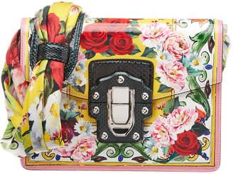 Dolce & Gabbana Lucia Leather Shoulder Bag