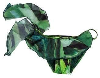 Agua de Coco Printed Swimsuit Bottom w/ Tags