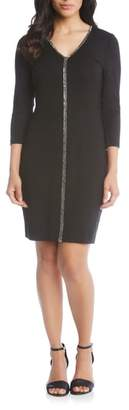 Karen Kane Sparkle Sheath Dress