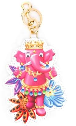 Moschino elephant keyring