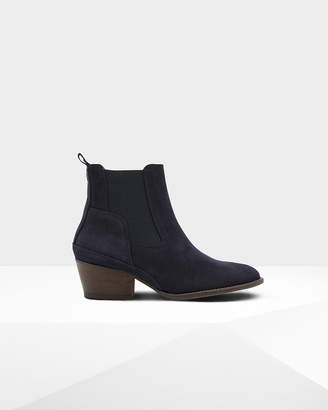 Hunter Women's Original Refined Suede Chelsea Boots
