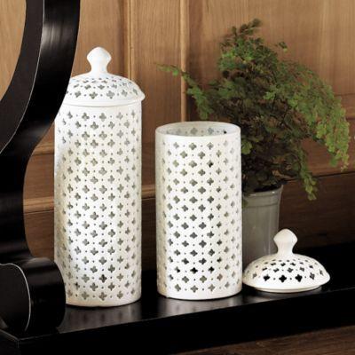 Elysee Pierced Jar