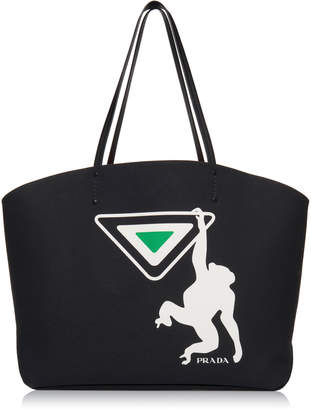 Canapa Tote with Monkey