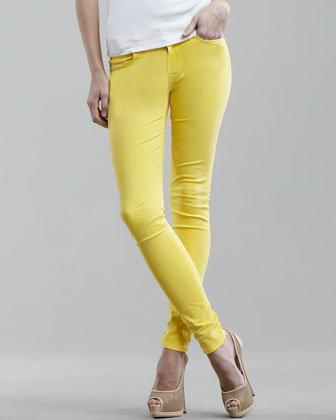 Hudson Nico Lemon Super Skinny Jeans